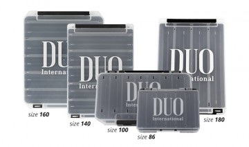 DUO Reversible Box 160 Pearl Black/ Clear