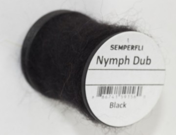 Semperfli Nymph Dub Black