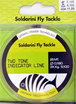 Soldarini two tone indicator line