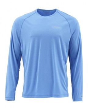Simms Solarflex Crewneck Solids Pacific Heather