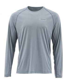 Simms Solarflex Crewneck Solids Storm Heather