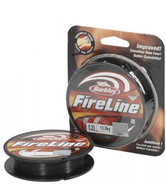 Berkley Fireline Smoke 250m 0,39mm