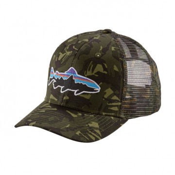 Patagonia Fitz Roy Trout Trucker Hat - Big Camo