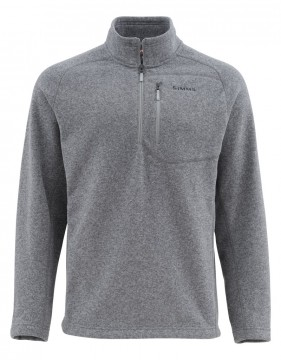 Simms Rivershed Sweater Steel