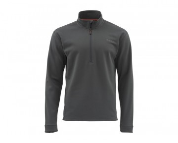 Simms Midweight Core Quarter-Zip Carbon