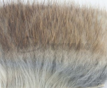 Natures Spirit dubbing fur piece Muskrat
