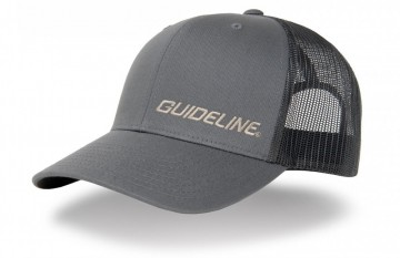 Guideline Retro Trucker Cap Charcoal/Black