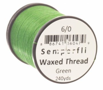 Semperfli bindetråd Classic Waxed 6/0 green
