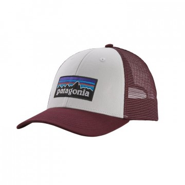 Patagonia P-6 LoPro Trucker Hat dark ruby