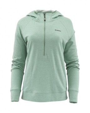 Simms Women Bugstopper Hoody Seafoam Heather