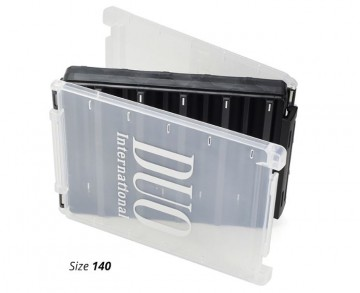 DUO Reversible Box 140 Pearl Black/ Clear