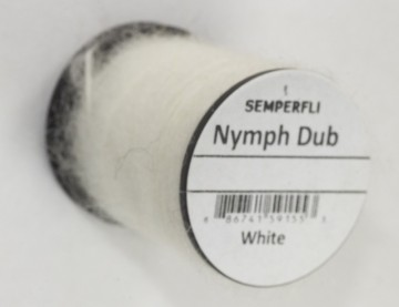 Semperfli Nymph Dub White