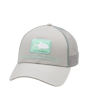 Simms Permit Icon Trucker sterling