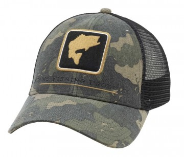 Simms Bass Icon Trucker Camo