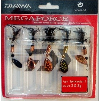 Daiwa MEGAFORCE SPINNER KIT 1