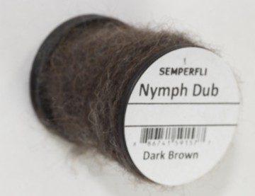 Semperfli Nymph Dub Dark Brown