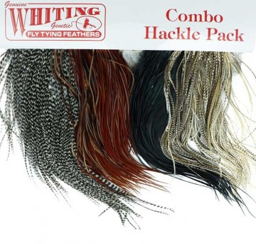 Whiting intro hackle pack saddles
