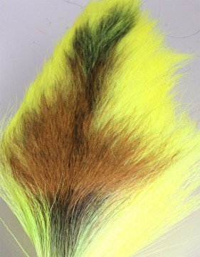 Bucktail large fluo yellow