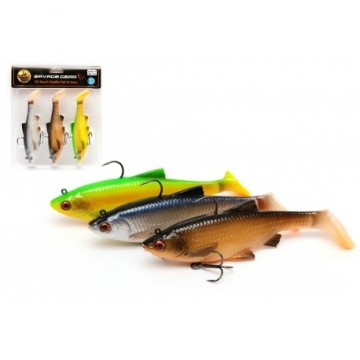 Savage Gear 3D Roach Paddle Tail 10cm 18g MiX