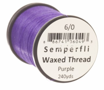 Semperfli bindetråd Classic Waxed 6/0 purple
