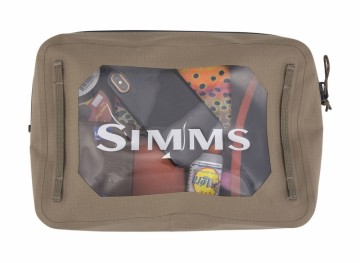Simms Dry Creek Gear Pouch 4 L tan