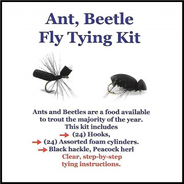 Ant beetle fly tying kit