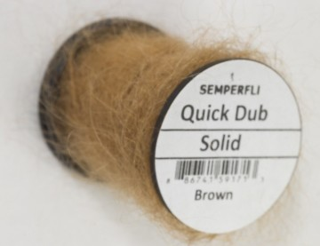 Semperfli Quick Dub Solid Brown