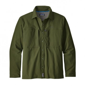 Patagonia Men´s Long-Sleeved Snap-Dry Shirt nomad green