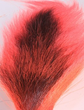 Bucktail large fluo red