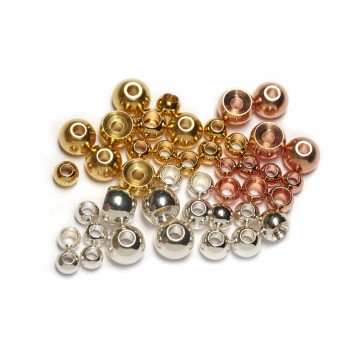 Veniard brass beads Silver