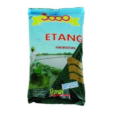 Sensas 3000 Etang Fine Mouture 1000g