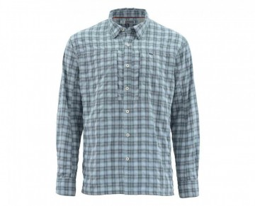 Simms Bugstopper Shirt Storm Plaid