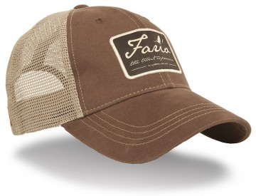 Guideline Fario Cap Dark Brown/Kahki Mesh