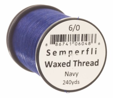 Semperfli bindetråd Classic Waxed 6/0 navy