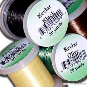 Veniard kevlar bindetråd green